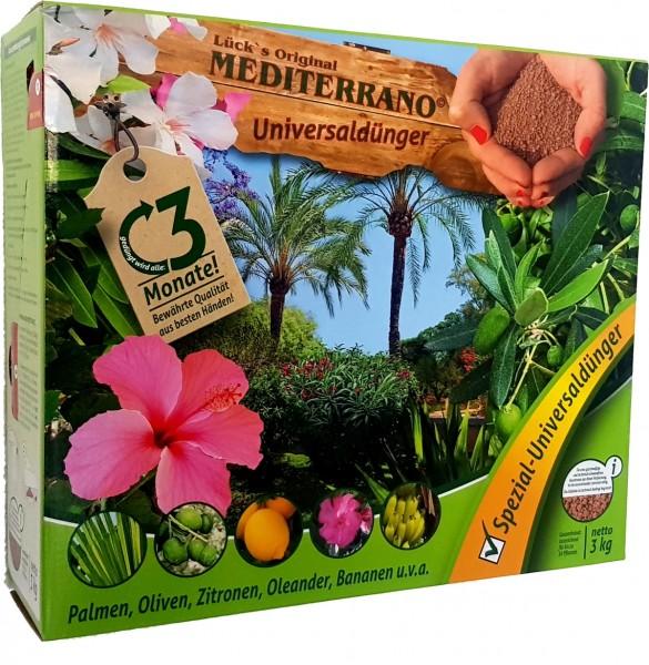 Mediterrano Universaldünger für Palmen 3kg
